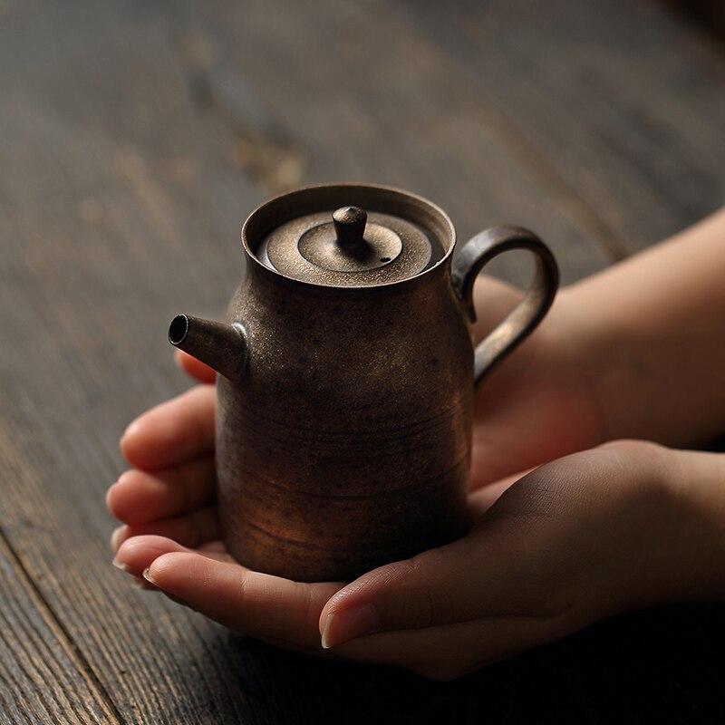 Único Vintage Tetera de té hecho a mano Kung Fu Tetera pequeña...