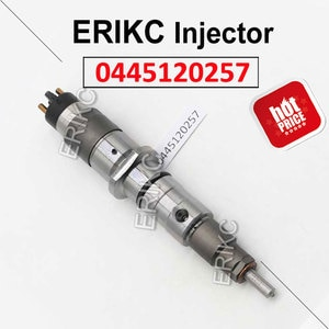 ERIKC 0445120257 Diesel Injectors Manufacturers 0 445 120 257 Common Rail Automation Injector 0445 120 257 For Bosch Cummins