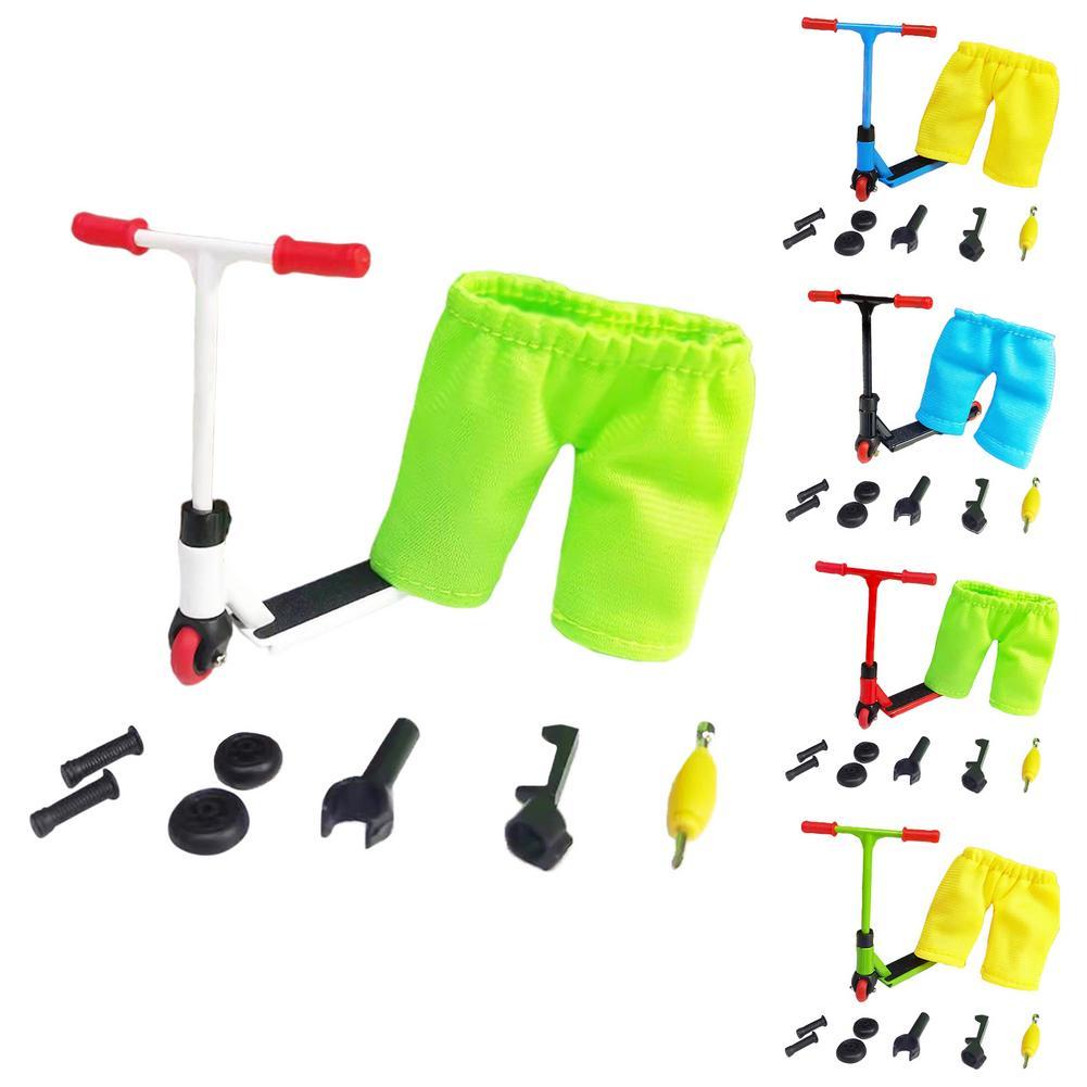 Мини фингерборд, скейтборд, пальцевые игрушки, сплав, аксессуары, набор скутеров, новинка, фингерборд, игрушки для детей, подарки