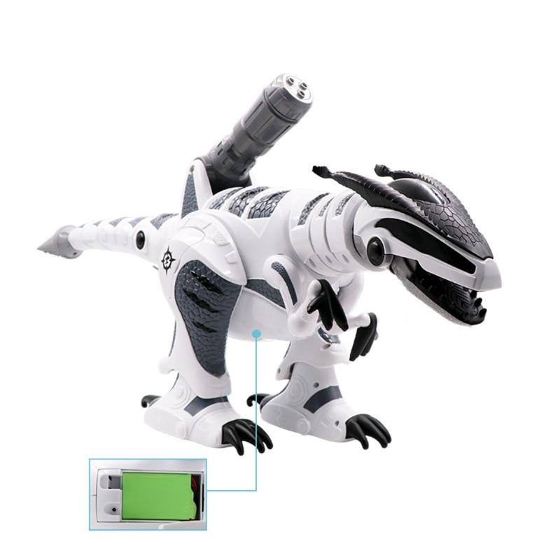 C5AF RC Robot Dinosaur Intelligent Interactive Smart Toy Remote Control Tyrannosaurus enlarge