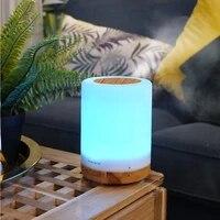 Diffuseur dhuile essentielle pour maison  humidificateur dair ultrasonique daromatherapie avec lumieres LED de 7 couleurs  brumisateur  300ml