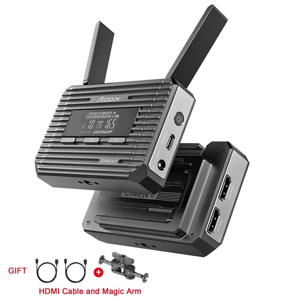 أكسون سينيي 2 II 2S جهاز ريسيفر استقبال وإرسال الفيديو الصوت 400ft نقل الفيديو الارسال 1080P فيديو الصوت