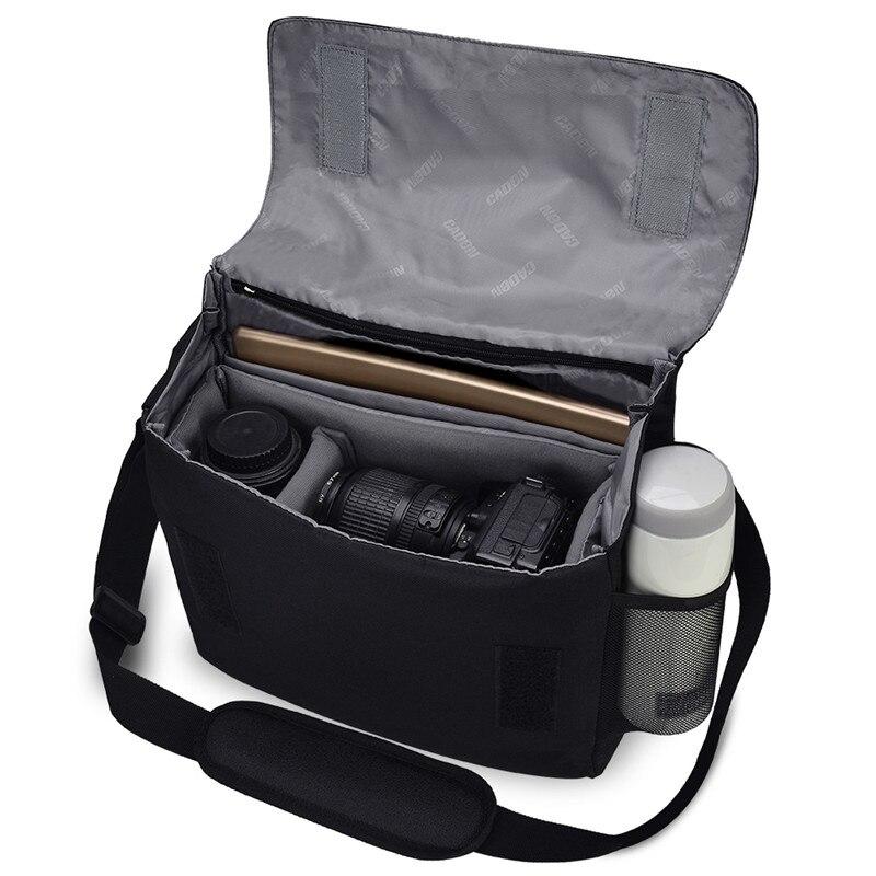 Câmera sling saco unisex à prova dslr água fotografia caso bolsa de viagem ombro mensageiro para canon nikon sony slr câmeras