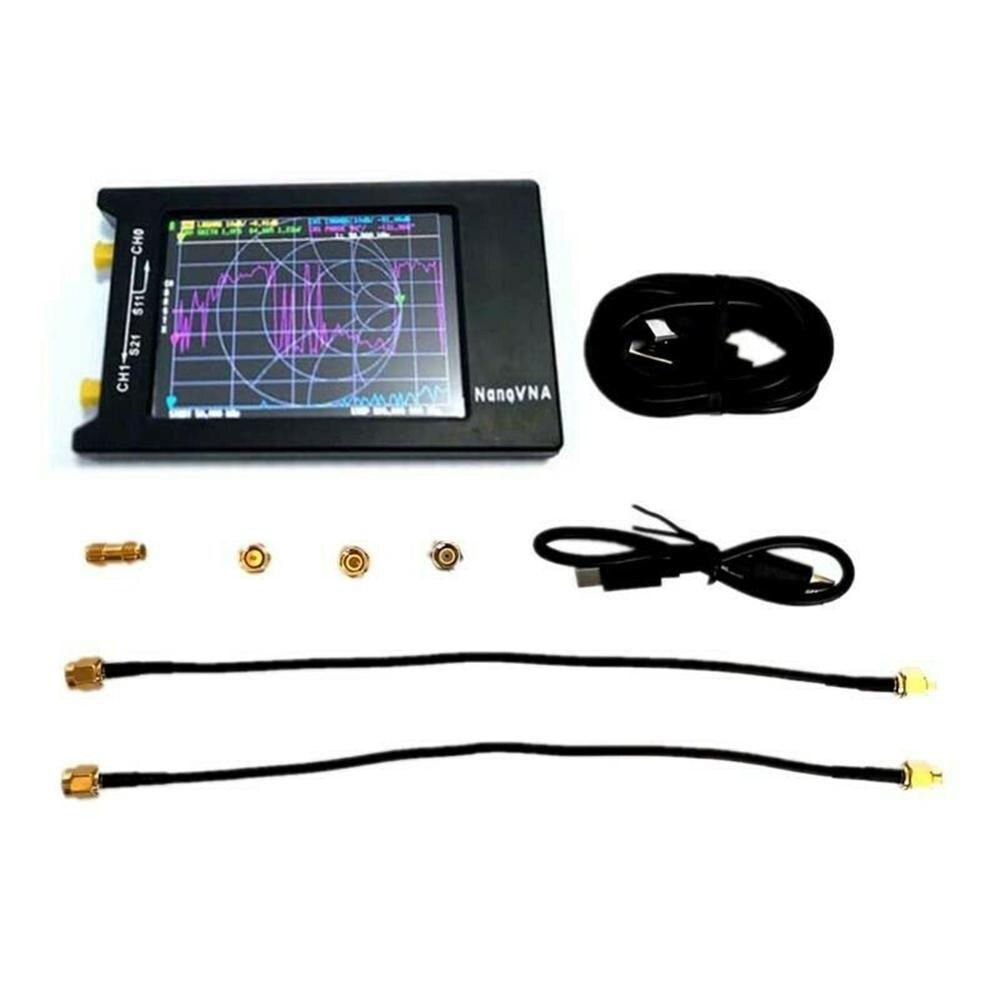 2020 New NanoVNA-H4 Network Analyzer 4 Inch LCD VNA HF VHF UHF UV Vector 50KHz Antenna Analyzer enlarge