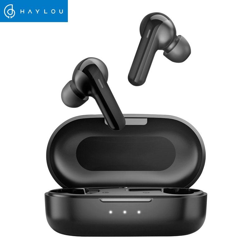 سماعات الرأس اللاسلكية DSP للحد من الضوضاء Haylou GT3 المزودة بتقنية البلوتوث 5.0 ، وقت تشغيل الموسيقى 28 ساعة ، سماعات الرأس الذكية التي تعمل باللمس ...
