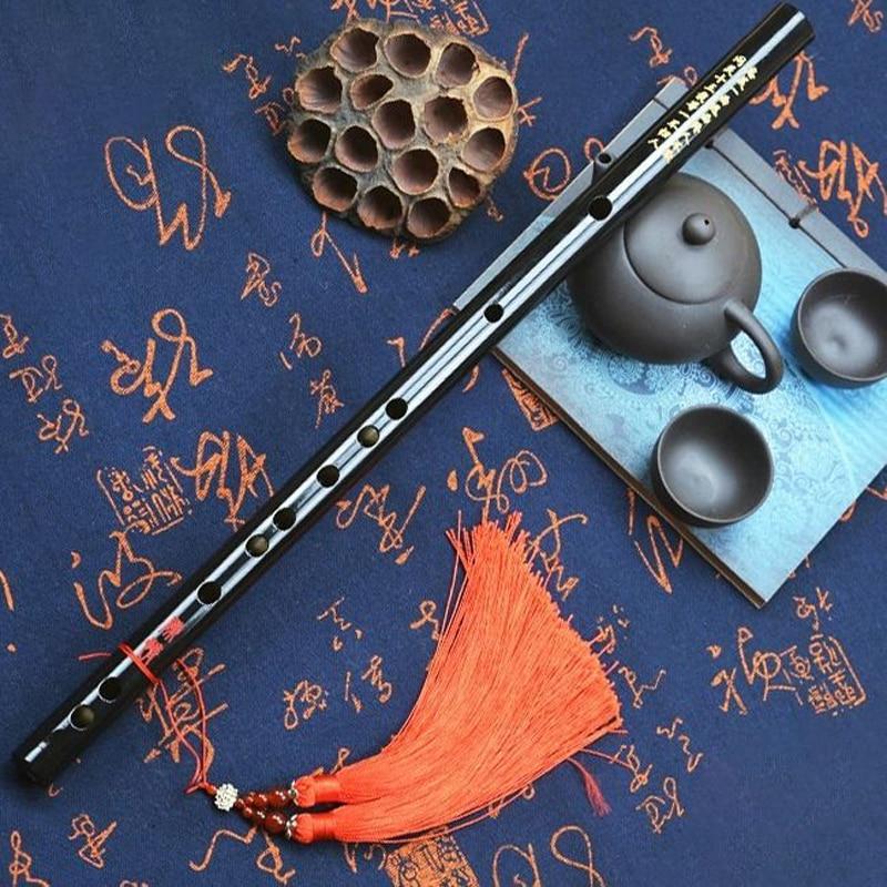 Professional Bamboo Flute for Children Adult Transverse Dizi Flute Musical Instruments C D E F G Key Wooden Flute Flauta