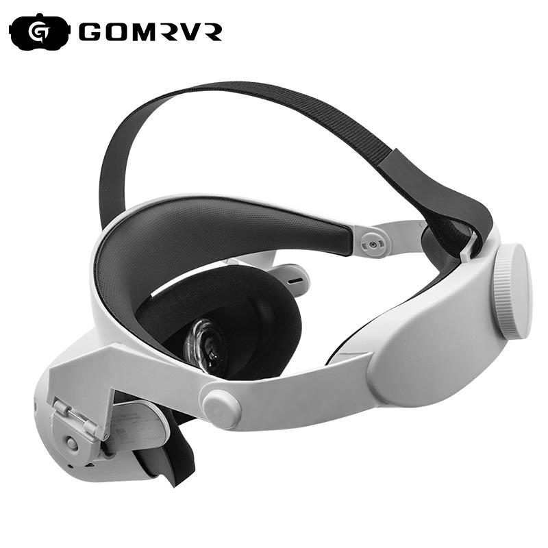 GOMRVR for Oculus Quest 2 Halo Strap Adjustable  ,Increase Supporting force and improve comfort-oculus quest2 Accessories