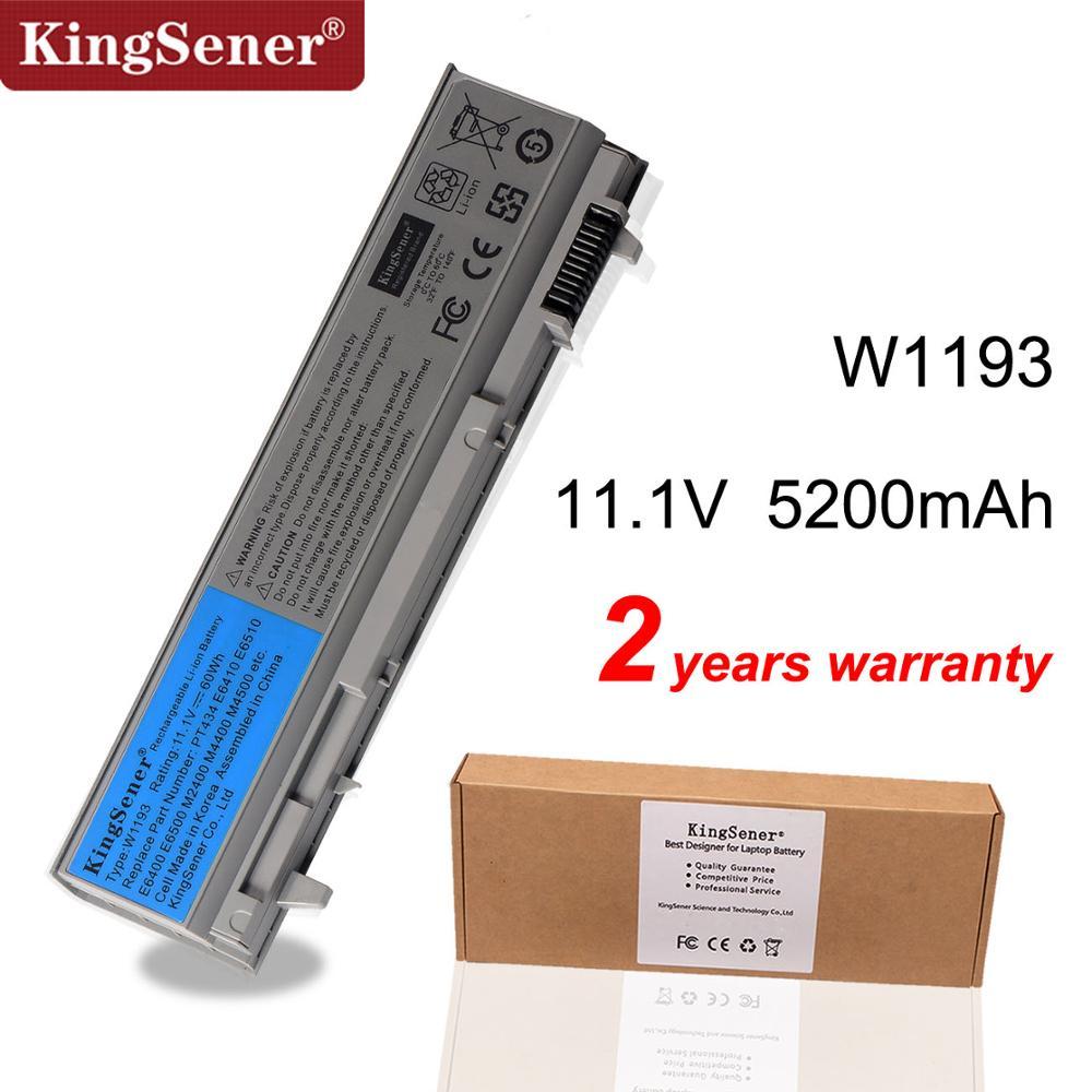 KingSener Laptop Batterie Für DELL Latitude E6400 E6500 E6410 E6510 M2400 M4400 M6400 W1193 PT434 KY265 GU715 C719R RG049 U844G