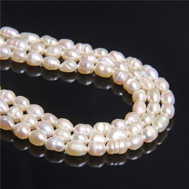 4-4.5mm branco irregular real natural barroco pérolas grânulos soltos para mulheres jóias fazendo pulseira brinco colar pérolas