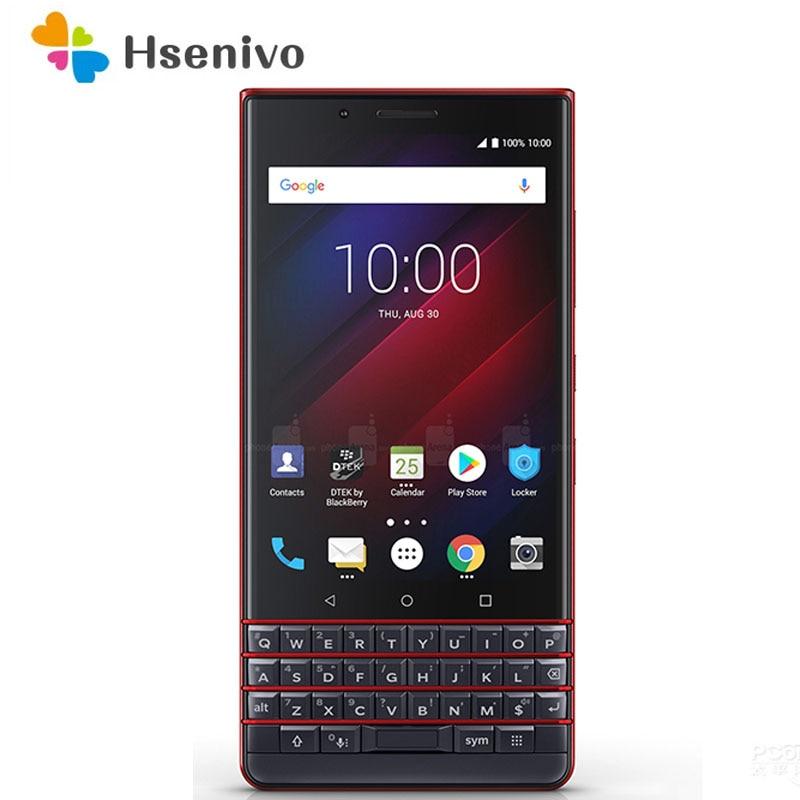 BlackBerry KEY2 LE Восстановленный-оригинальный Восьмиядерный 13 МП 4,5 дюйм 3500 мАч 3G B ОЗУ 32 Гб 64 Гб ПЗУ 3G 4G LTE сотовый телефон