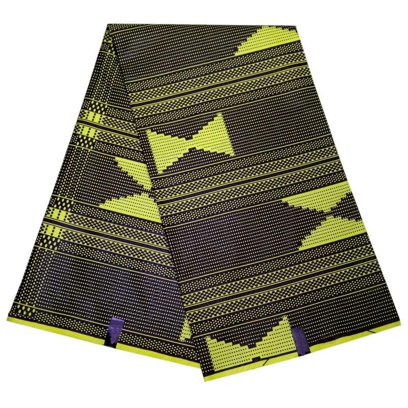 2019 nuevo estilo África Waxcloth color marfil flor forma tejido africano con cera
