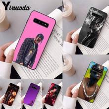 Travis scott DIY Painted Bling Phone Case For Samsung Galaxy A50 A30 A71 A40 S10E A60 A50s A30s Note 8 9 S10 Plus S10 S20 S8