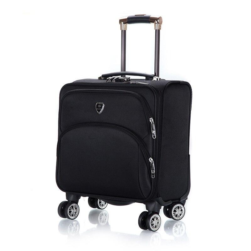 чехол на чемодан 18316 s 55 см Новый чехол на колесиках из ткани Оксфорд, портативный чемодан 18 дюймов, Дорожный Чехол для костюма, деловой чемодан, дорожные сумки