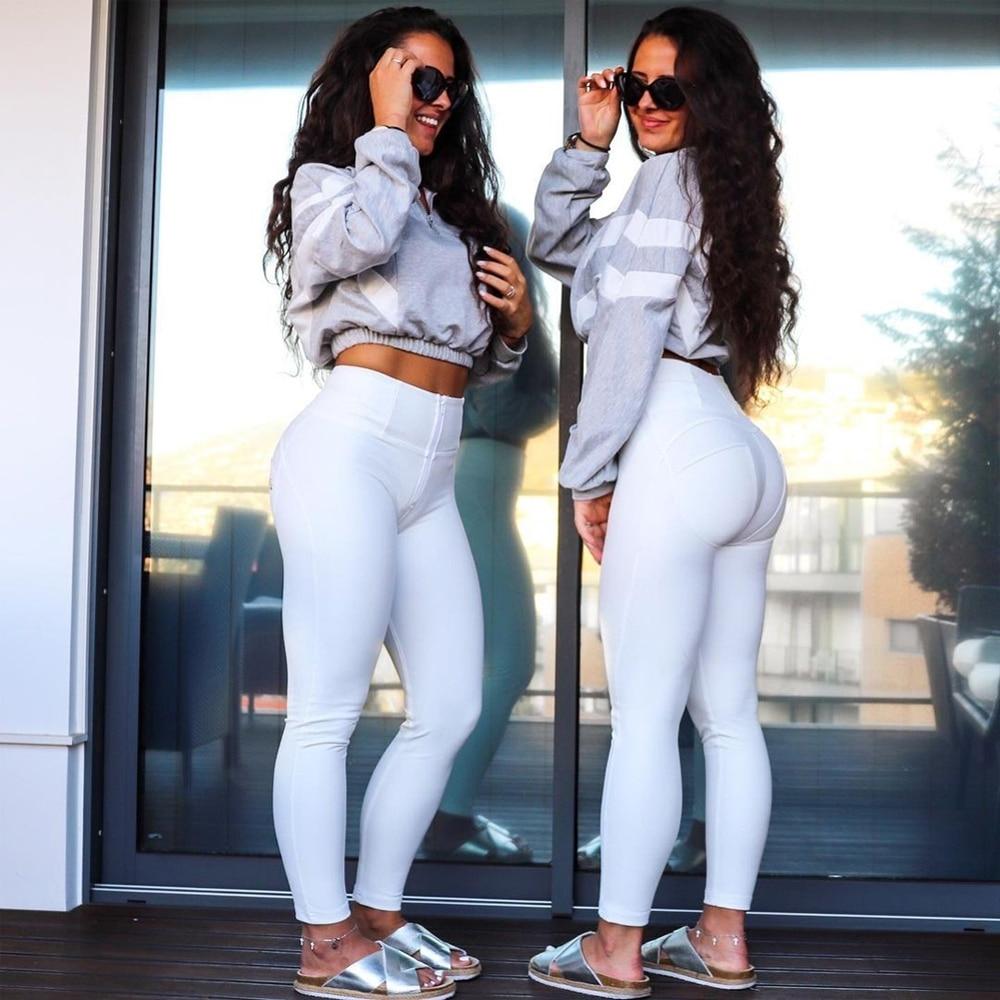 Спортивные Леггинсы Shascullfites Melody для фитнеса, спортзала, одежда, женские кожаные брюки, белые брюки, женские джинсы с высокой талией