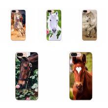 Phone Cases For Xiaomi Redmi Mi 4 7A 9T K20 CC9 CC9e Note 7 9 Y3 SE Pro Prime Go Play Horse Animal Printed