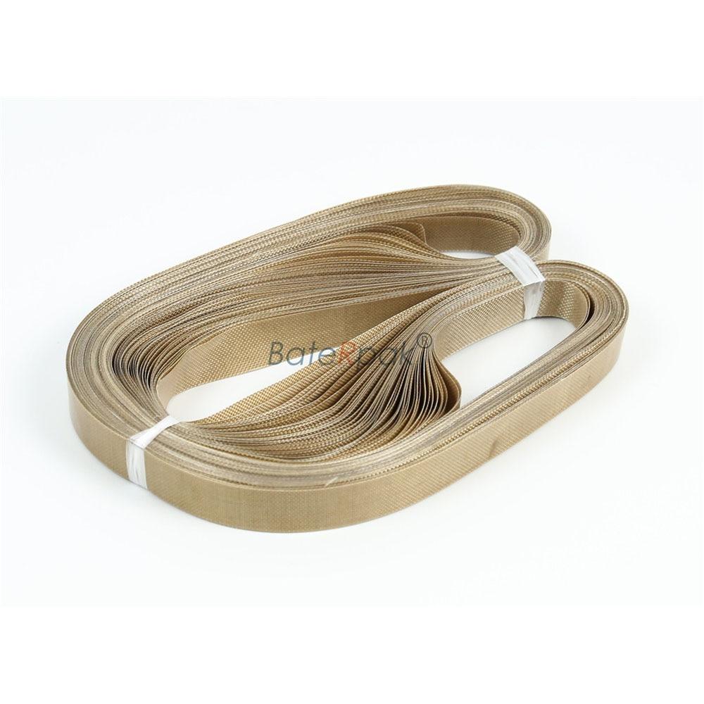 810*15*0.2mm HUALIAN FRM-810/980 continous Band sealer strap. belt BateRpak Resin tape,band sealing machine part 50pcs/bag enlarge