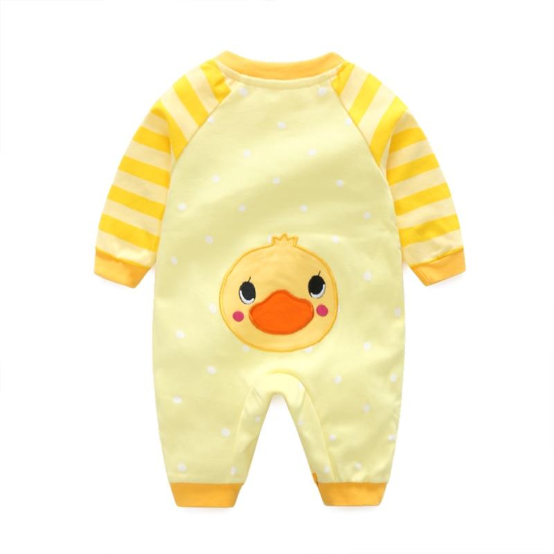 2020 spring Cute baby girl romper  boys clothing  Cartoon  jumpsuit Bebes  onesie infant Romperwith