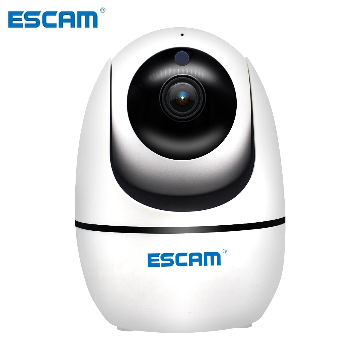 Escam pvr008 h.265 rastreamento automático ptz pan/telha câmera 2mp hd 1080 p visão noturna sem fio câmera ip