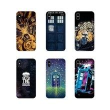 Accessories Phone Cases Covers For Xiaomi Mi4 Mi5 Mi5S Mi6 Mi A1 A2 A3 5X 6X 8 CC 9 T Lite SE Pro Doctor who tardis artwork blue