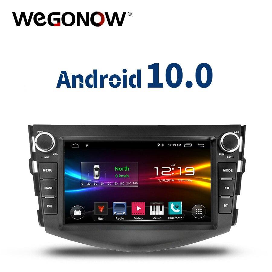 DSP Android 10,0 quad Core 2GB + 32GB Auto DVD Player GPS WIFI Bluetooth TPMS carplay RDS Radio für Toyota RAV4 RAV 4 2006 -2012