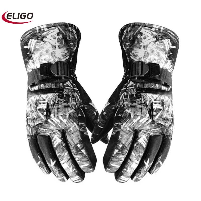 cold protection ski gloves Winter riding and warm sports motorcycle autumn winter windproof