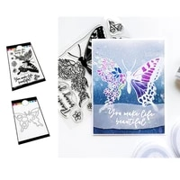 hot sale rose flower butterfly metal cutting dies and stamps diy scrapbooking card stencil paper handmade album stamp 2021 new