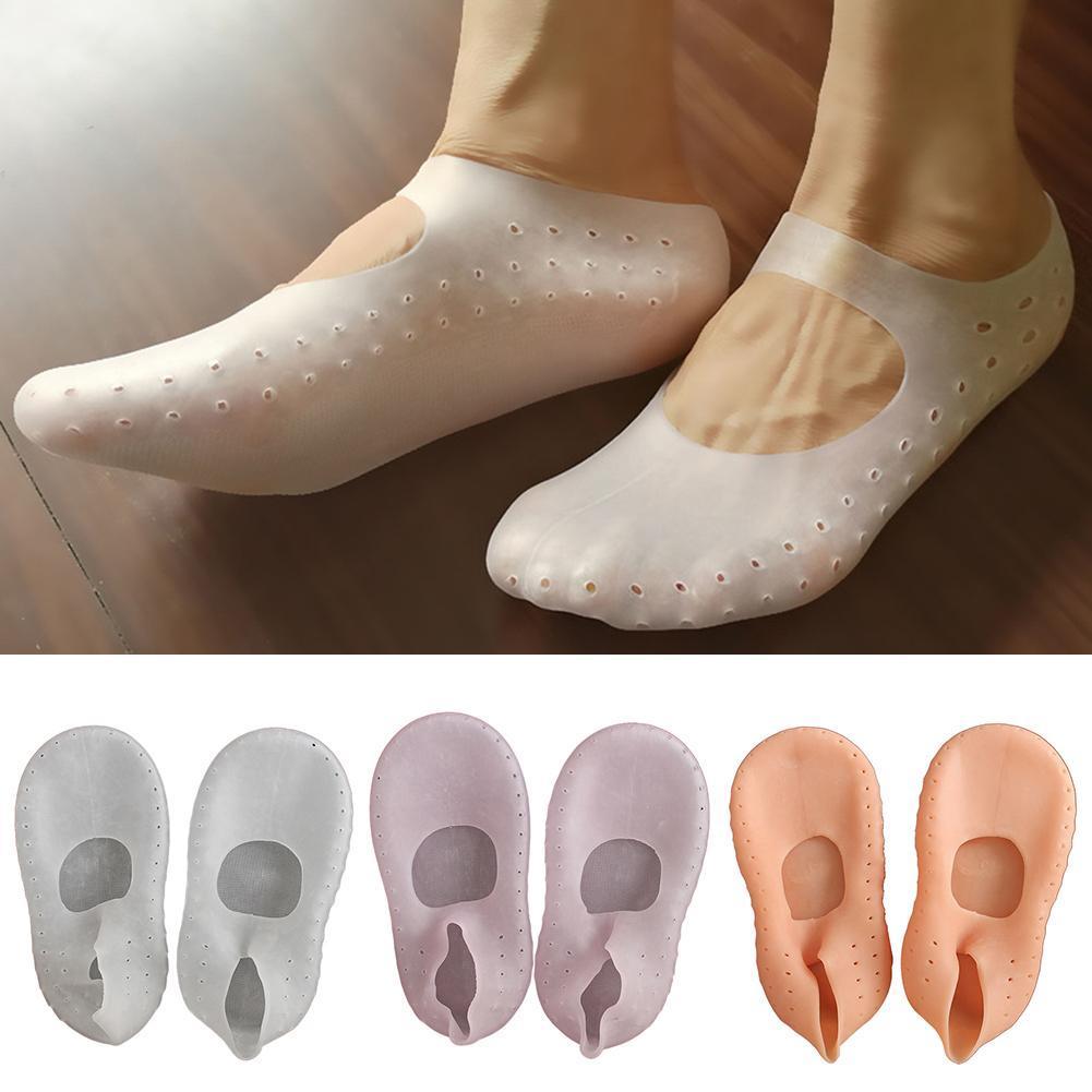 Носки унисекс с противоскользящим основанием, дышащие дизайнерские короткие носки с силиконовым ремешком для ухода за ногами для дома, для ...