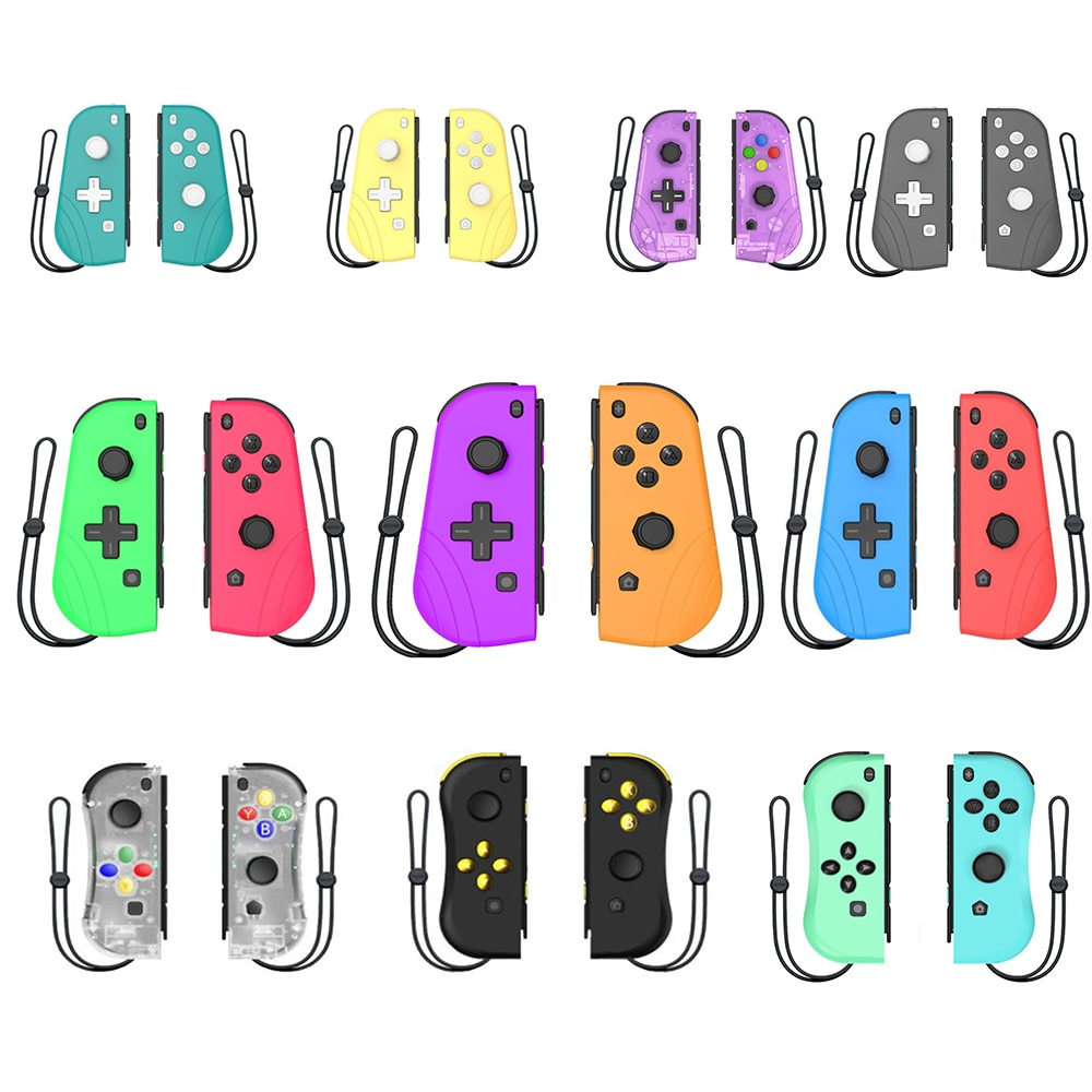 Wireless Controller Gamepad For Nintend Switch Console Vibration Sensor Con Handle Game Bluetooth-compatible Left Right Joystick