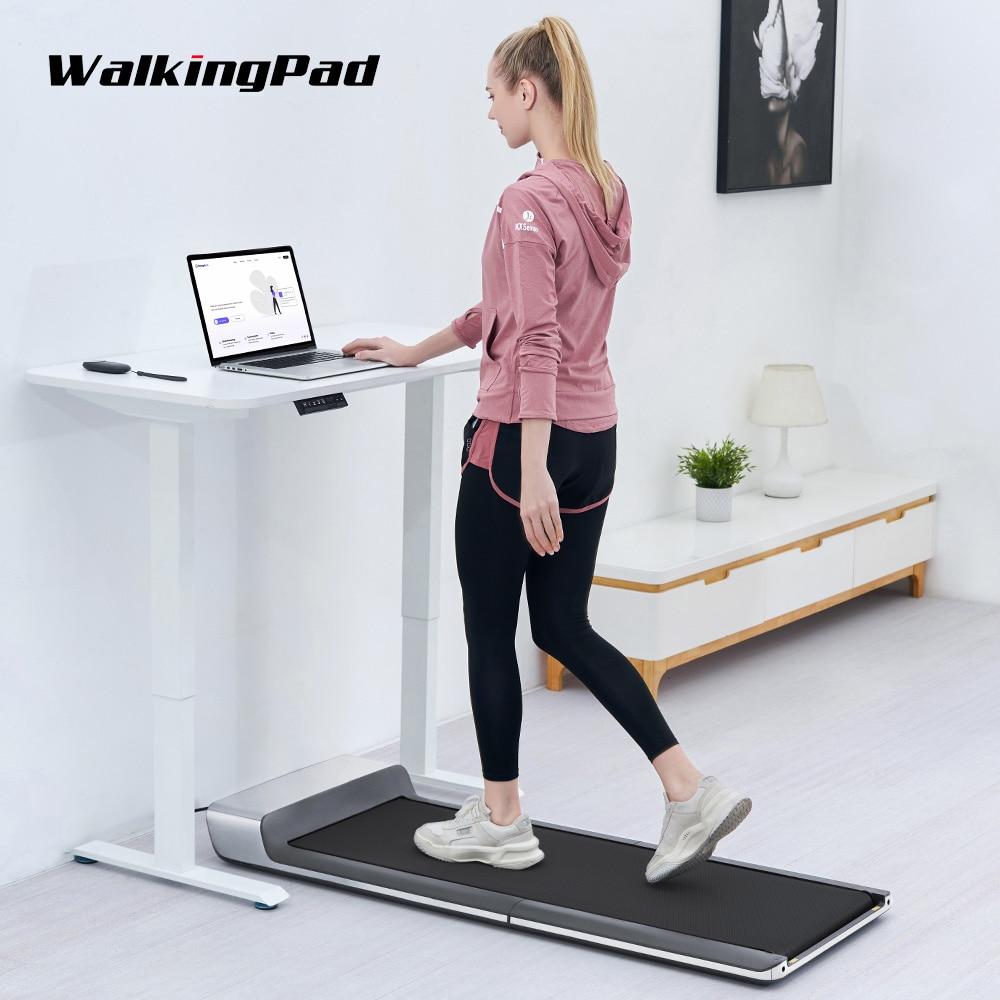 WalkingPad-Cinta De Correr P1 para caminar eléctrica, plegable, con Control remoto/aplicación, Fitness,...