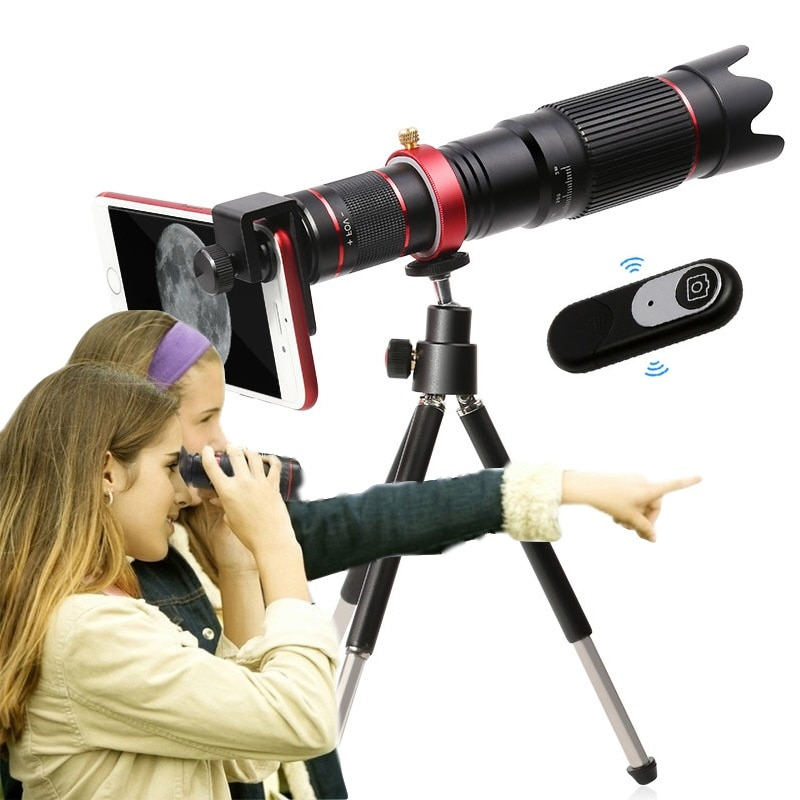 4K HD 36X 22X Optical Telescope Zoom Phone Camera Lens Telephoto Lens For iPhone Xiaomi Smartphone Lenses lente para celular
