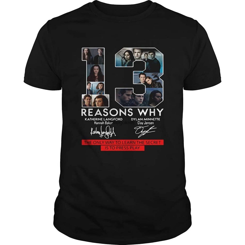 13 razões pelas quais a única maneira de aprender o segredo é pressionar a camisa do jogo engraçado camiseta de manga curta
