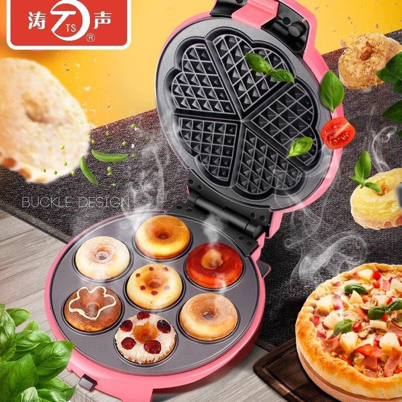 1 قطعة TS-19 متعددة الوظائف الكهربائية الخبز عموم المنزلية الهراء كعكة آلة البيض لفة يمكن تغييرها إلى الخبز عموم