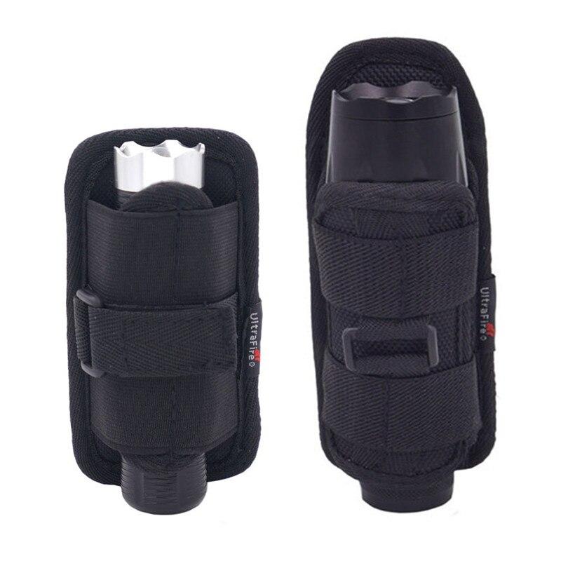 Flashlight Holster Baton Holder Nylon Duty Flashlight Holder Belt Carry Case for Tactical Flashlights New