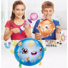 Magic Lijm Oonies Hoge Kwaliteit Kinderen DIY Handgemaakte Creative Kleverige Bal Fun Bubble Inflator Creativiteit Speelgoed Kit Dropshippi