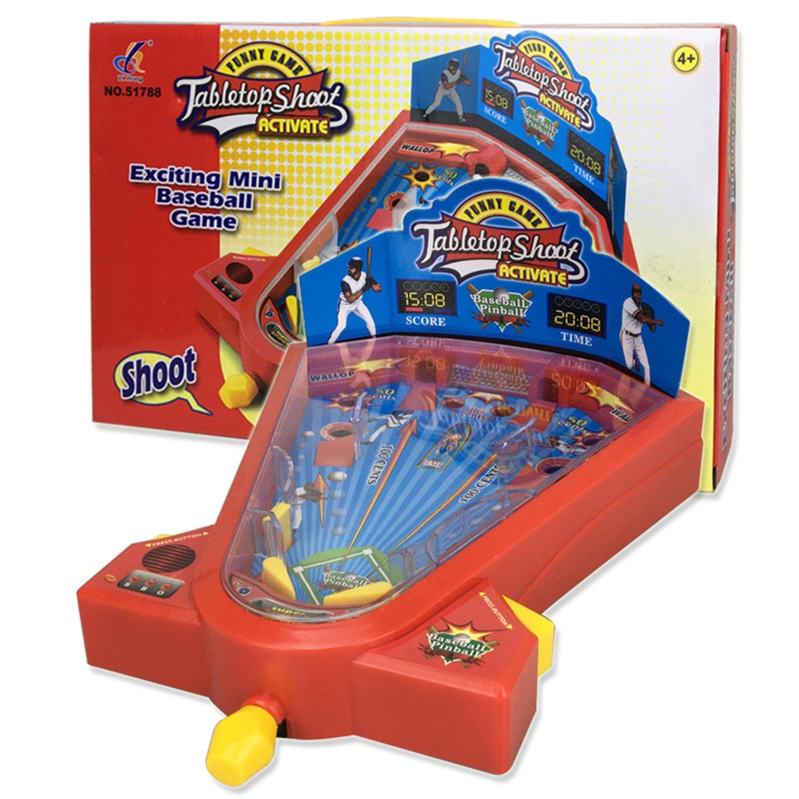 Фото - Children's Desktop Baseball Toy Mini Safe Educational Family Board Match Game For Parent-child Fun Interaction 2021 novelty kids bean bag toss game toys outdoor dart board game game toy set fun parent child interaction educational game