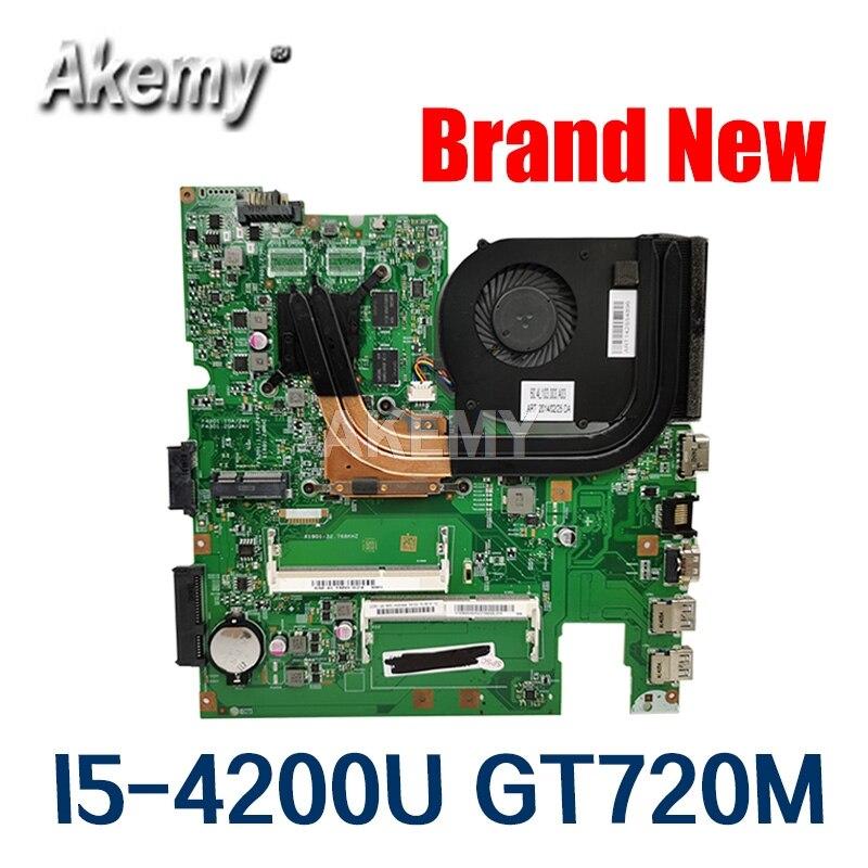 12293-1 48.4L106.011 motherboard para For Lenovo S510P LS41P LS51P notebook motherboard CPU i5 4200U GT720M 2G DDR3 100% trabalho de teste