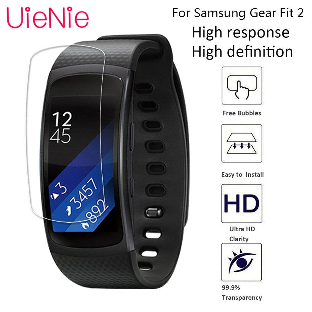 Película HD transparente antiarañazos para Samsung Gear Fit 2, película protectora para reloj ultrafina de TPU, película protectora para pulsera, 5 uds.