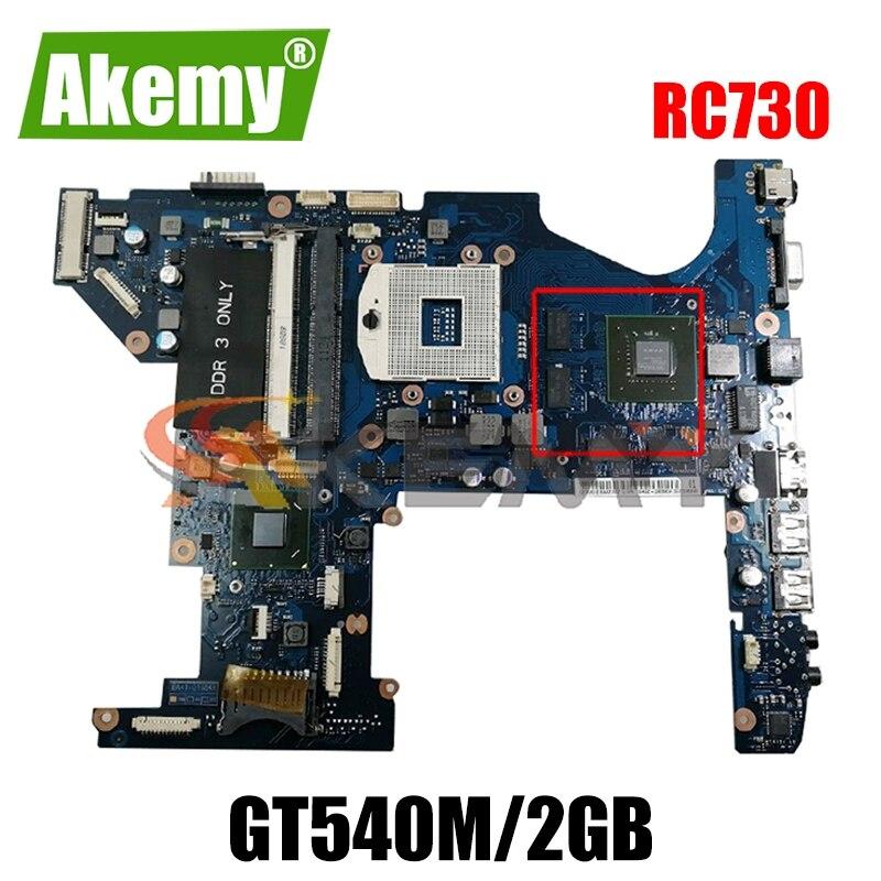 AKEMY لسامسونج RC730 اللوحة المحمول BA92-08896A BA92-08896B BA41-01684A GT540M/2GB GPU HM65