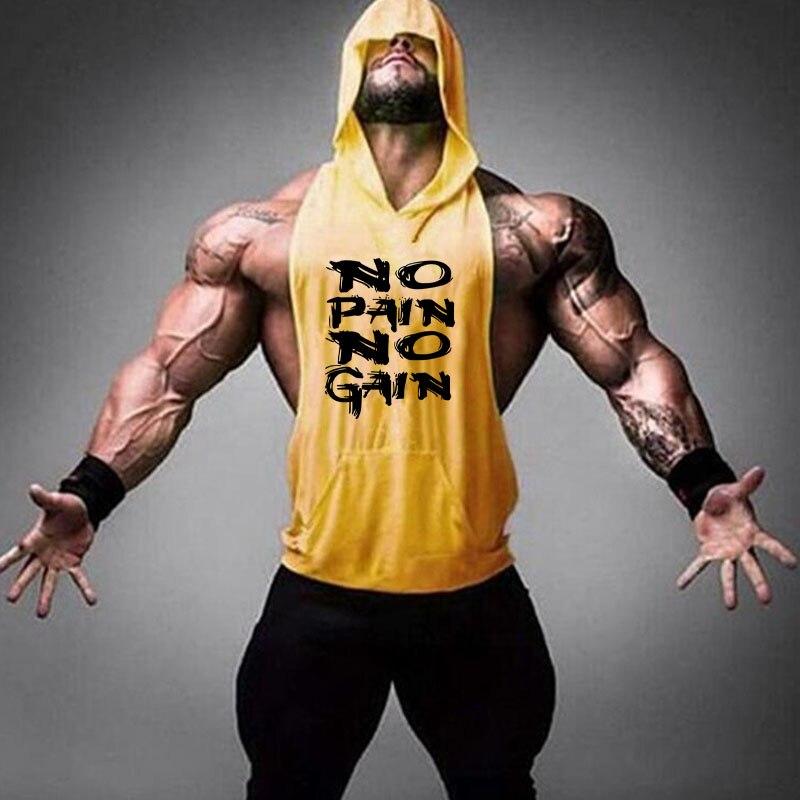 Mejor marca de ropa camiseta sin mangas deportiva hombres larguero de culturismo camisa muscular entrenamiento chaleco para gimnasios Camisetas Camiseta de manga larga