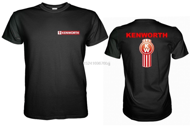 New Kenworth Truck Logo Black Mens Tshirt