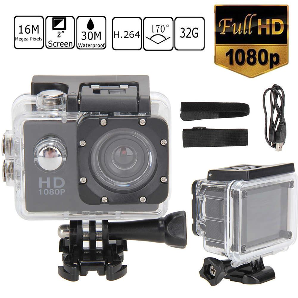 2.0 Inch Full HD 1080P Waterproof Camera Camcorder Car Motorcyce Sports DV Go Car Cam Pro Camcorder With Cam Accessories