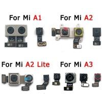 Оригинальная задняя фронтальная камера для Xiaomi Mi A1 A2 Lite A3 5X 6X, задняя фронтальная Селфи, задняя камера, модуль, запасные части для замены
