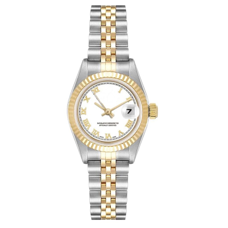 Luxury Top Sale Women Watch Lady Dress Size 26mm Datejust Sapphier Crystal Stainless Steel Roma Numbers Female Wristwatches enlarge