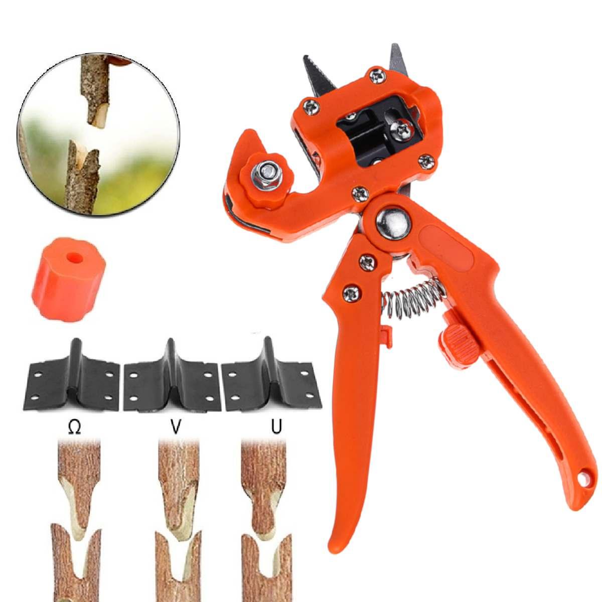 Градински инструменти присаждане секач хеликоптер ваксинация рязане дърво растения секатори, градински ножици