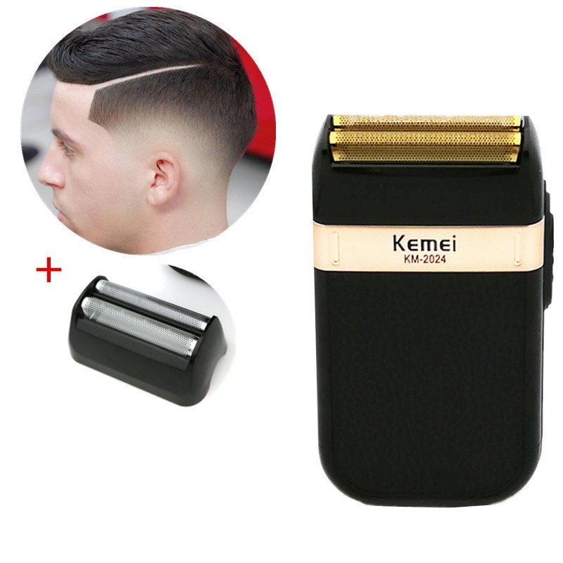 Kemei Electric Hair Clippers Trimmers For Men Kids Cordless USB Rechargeable Hair Cutting Machine Professional Beard Trimmer enlarge