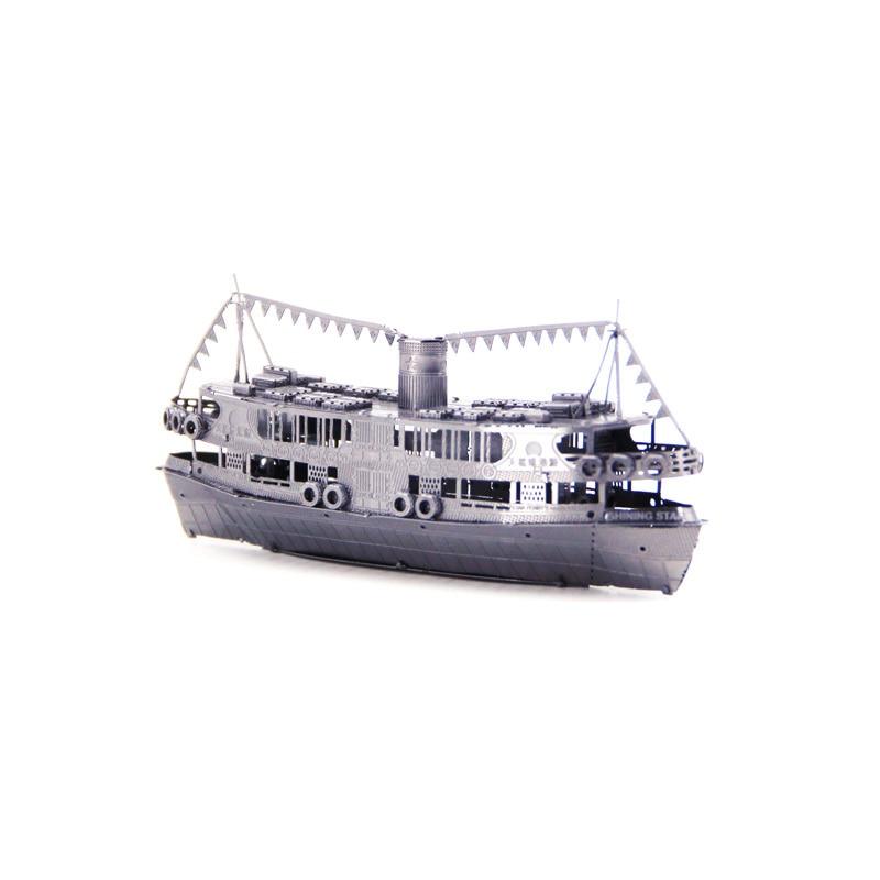 Rompecabezas 3D de metal con forma de estrella para niños, mini Kit...