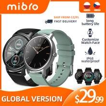 Mibro Air Electronics Bluetooth Smart Watch Men Women's Watches Sport Smartwatch Fitness Heart Rate