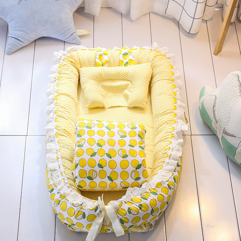 Baby Crib Bed Portable Removable and Washable Quilt Baby Bed Newborn Bionic Bed Baby Nest Foldable Crib Bed Circumference Colu enlarge