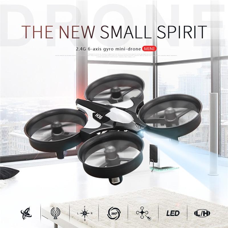 Mini Dron JJRC H36 RC, gran oferta, Micro cuadricópteros 2,4G, 6 ejes con modo sin cabeza, de regreso con una sola tecla, helicóptero Vs H8