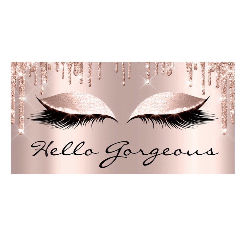 Girly Rose Gold Eyelash Makeup Body Beach Towel for Woman Spark Rose Drip Face Sport Travel Towels L